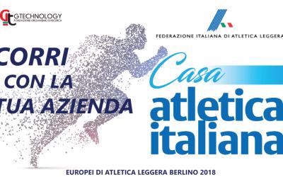 Corri con la tua azienda a Casa atletica italiana