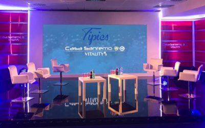 Tipics invitata a Casa Sanremo per il 69° Festival della canzone italiana